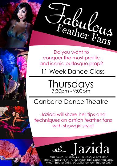 Jazida-Australian-Burlesque-Canberra-Dancer-Feather-Fan-Classes-Teaching-Canberra-Dance-Theatre-Fans
